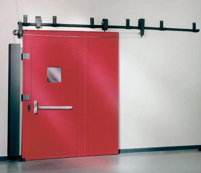 Откатные противопожарные ворота: функциональные и стильные элементы системы пожаробезопасности